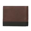 Herren-Geldbörse aus Leder bata, Braun, 944-8149 - 16