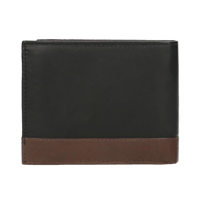 Herren-Geldbörse aus Leder, Schwarz, 944-6149 - 16