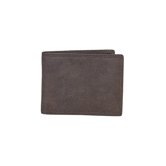 Herren-Geldbörse aus Leder bata, Braun, 944-4129 - 13