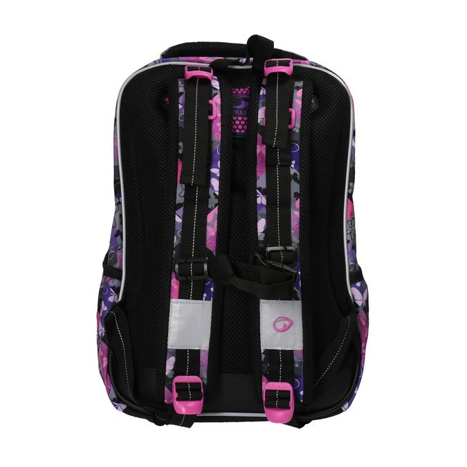 Schulrucksack mit Schmetterlingen bagmaster, Violett, Rosa, 969-5607 - 26