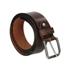 Brauner Gürtel aus Leder, Braun, 954-3106 - 13