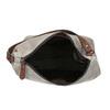 Lederhandtasche im Hobo-Stil bata, Grau, 963-2130 - 15