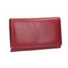 Damen-Geldbörse aus Leder bata, Rot, 944-5168 - 13