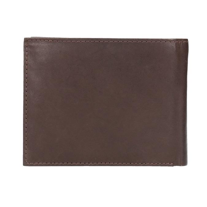 Herren-Geldbörse aus Leder bata, Braun, 944-4171 - 19