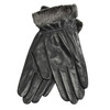 Damen-Lederhandschuhe mit Kunstfell bata, Schwarz, 904-6112 - 13
