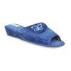 Damen-Hausschuhe bata, Blau, 679-9606 - 13