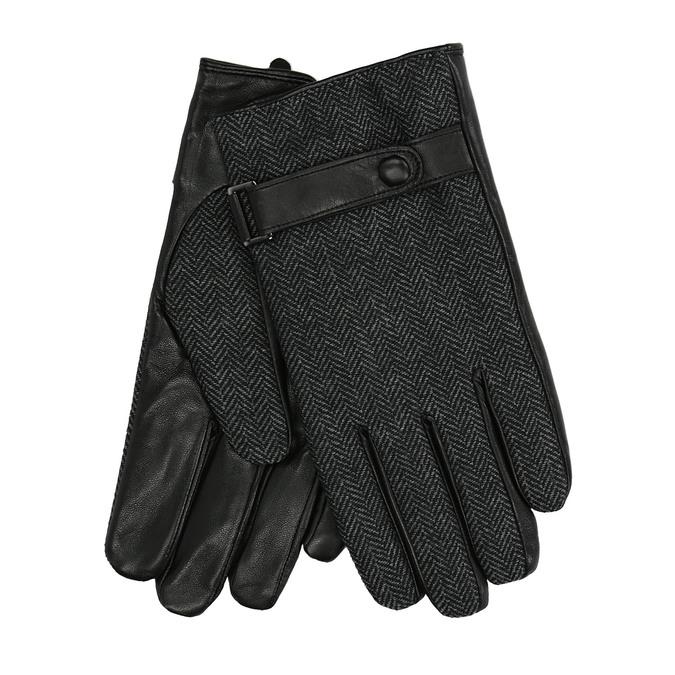 Herren-Handschuhe mit einem Gurt, Schwarz, 909-6297 - 13