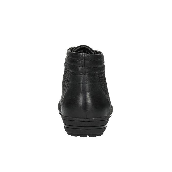 Knöchelhohe Damen-Sneakers bata, Schwarz, 594-6659 - 17