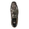 Lederhalbschuhe mit Camouflage-Muster climatec, Grűn, 826-7600 - 19