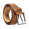 Brauner Herrengürtel aus Leder bata, Braun, 954-4153 - 13