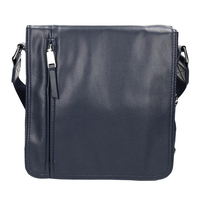 Herrentasche im Crossbody-Stil bata, Blau, 961-9508 - 26