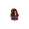 Braune Lederhalbschuhe mit Verzierung conhpol, Braun, 826-3837 - 17