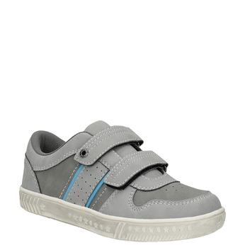 Kinder-Sneakers mit Klettverschluss mini-b, Grau, 411-2604 - 13