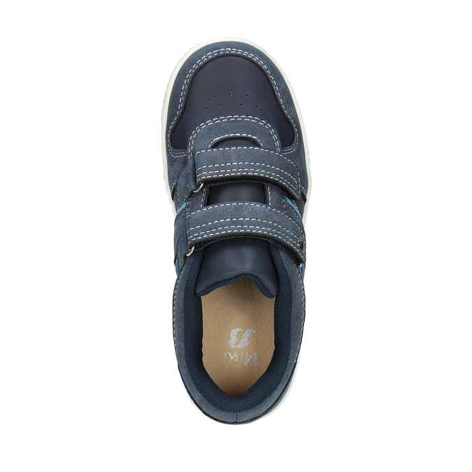 Kinder-Sneakers mit Steppung mini-b, Blau, 411-9604 - 19