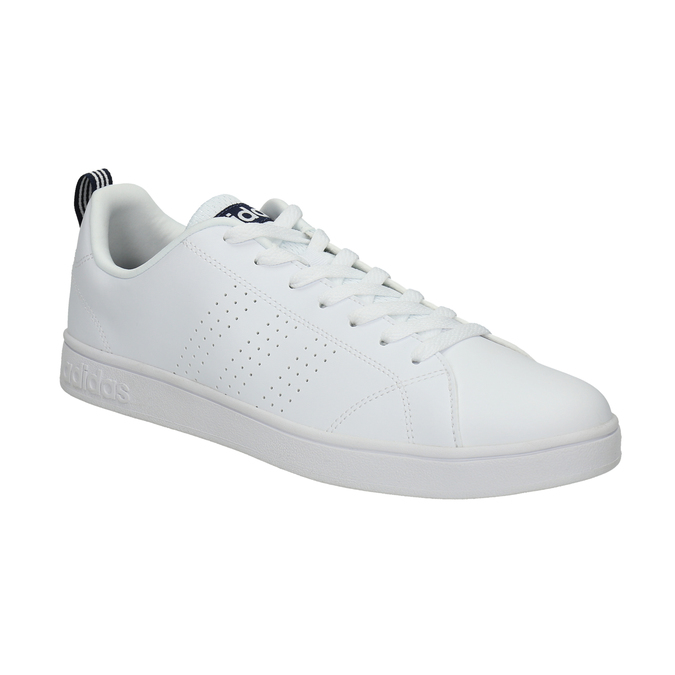 Herren-Sneakers mit Perforation adidas, Weiss, 801-1100 - 13