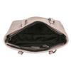 Rosa Handtasche mit perforiertem Detail bata, Rosa, 961-5711 - 15