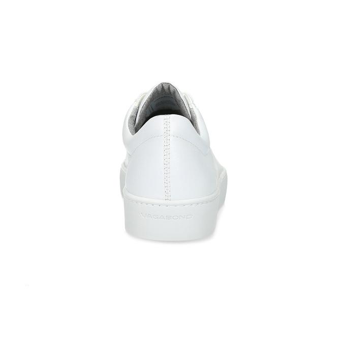 Weisse Sneakers aus Leder vagabond, Weiss, 624-1019 - 15