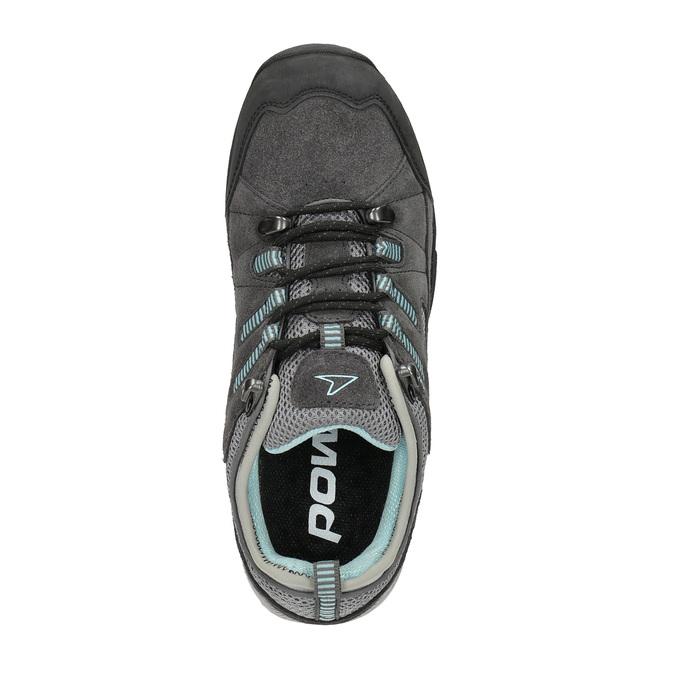 Damen-Outdoor-Schuhe aus Leder power, Grau, 503-2118 - 19