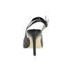 Schwarze Lederpumps mit freier Ferse insolia, Schwarz, 724-6634 - 17