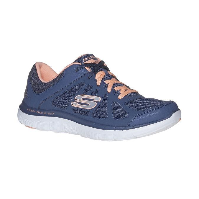 Sportliche Damen-Sneakers skechers, Blau, 509-9963 - 13