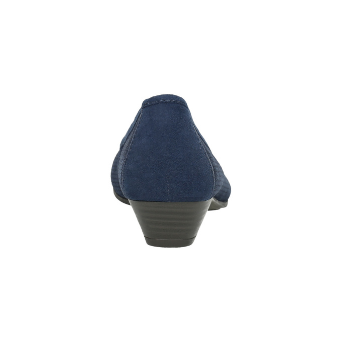 Lederpumps der Weite H bata, Blau, 623-9601 - 17