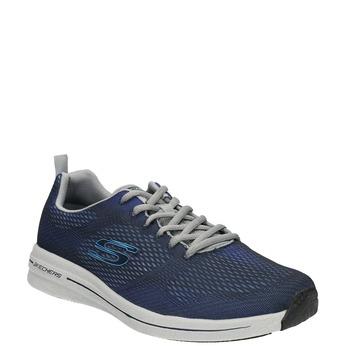 Herren-Sneakers mit Memory-Schaum skechers, Blau, 809-9141 - 13