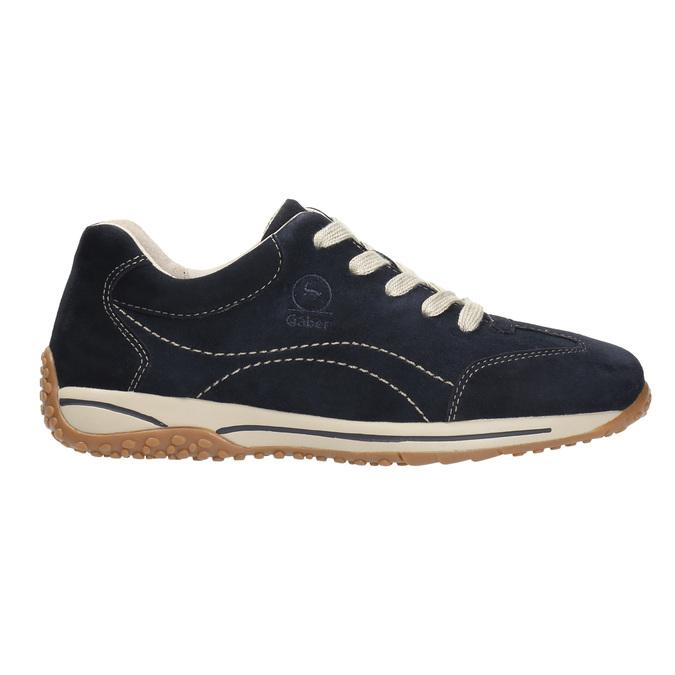 Damen-Sneakers aus Leder gabor, Blau, 626-9205 - 15