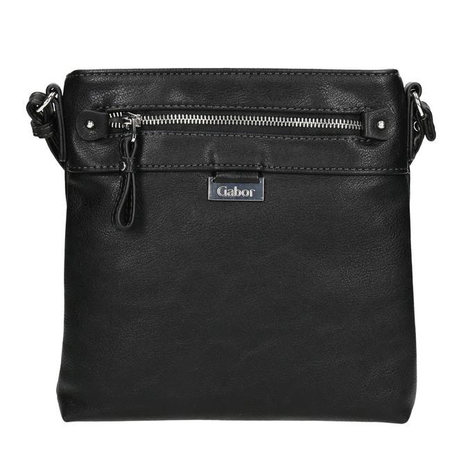 Schwarze Damen-Crossbody-Handtasche gabor-bags, Schwarz, 961-6081 - 17
