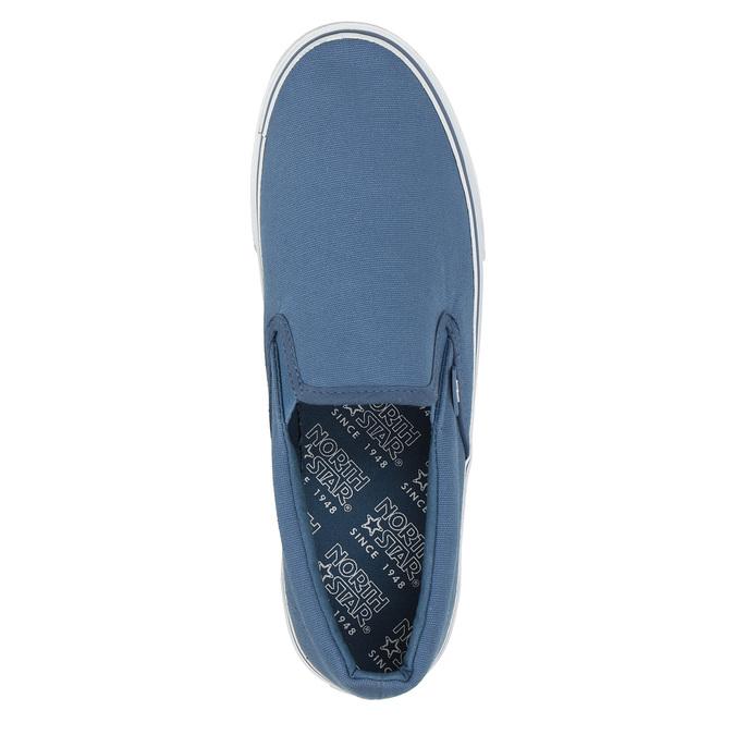 Blaue Schuhe im Stil der Slip-Ons north-star, Blau, 889-9286 - 19