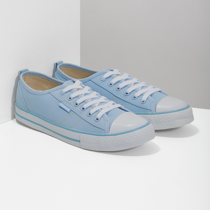 Blaue Damen-Sneakers north-star, Blau, 589-9443 - 26