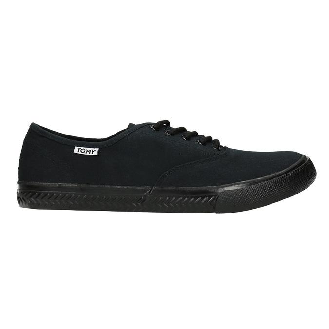 Schwarze Herren-Sneakers tomy-takkies, Schwarz, 889-6227 - 15