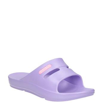 Violette Damenpantoletten coqui, Violett, 572-9607 - 13