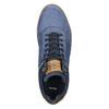 Knöchelhohe Sneakers aus Leder bata, Blau, 846-9641 - 26