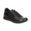 Legere Sneakers aus Leder bata, Schwarz, 524-6606 - 13