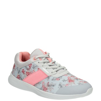 Sneakers mit Blumenmuster power, Grau, 509-2203 - 13