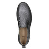Damen-Slip-Ons mit schwarzer Flatform bata, Grau, 516-1613 - 26