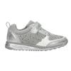 Silberne Mädchen-Sneakers mit Steinchen mini-b, Grau, 329-2295 - 15