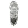 Silberne Mädchen-Sneakers mit Steinchen mini-b, Grau, 329-2295 - 26