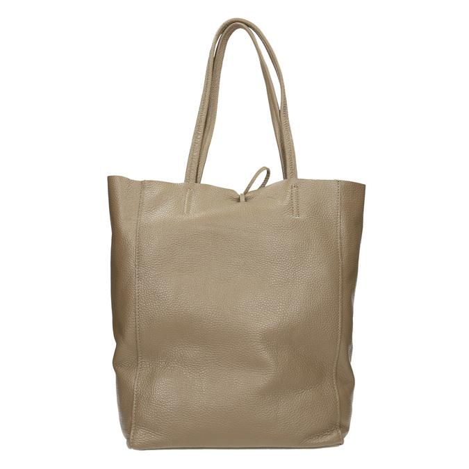 Damen-Lederhandtasche mit Schleife bata, Beige, 964-2122 - 16