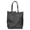 Lederhandtasche im Shopper-Stil bata, Schwarz, 964-6122 - 16