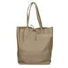Damen-Lederhandtasche mit Schleife bata, Beige, 964-2122 - 26