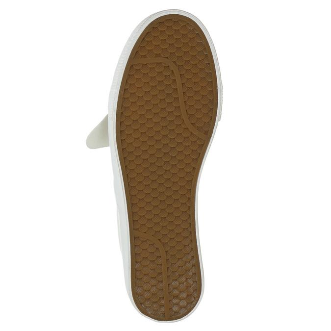 Damen-Slip-Ons aus Leder bata, Rosa, 516-5614 - 19