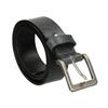 Schwarzer Gürtel aus Leder bata, Schwarz, 954-6192 - 13