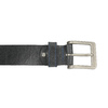Schwarzer Gürtel aus Leder bata, Schwarz, 954-6192 - 26