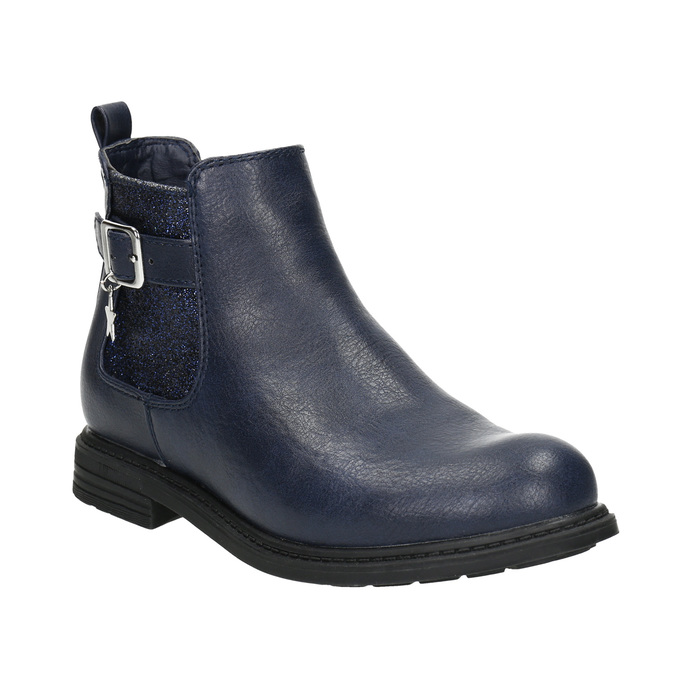 Blaue Chelsea-Boots für Kinder mini-b, Blau, 321-9613 - 13