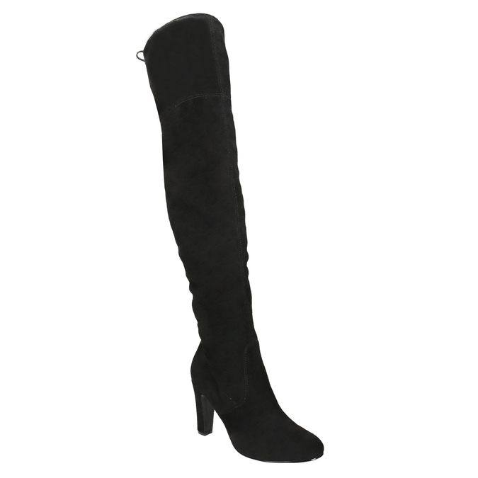 Overknee-Stiefel mit Absatz insolia, Schwarz, 799-6618 - 13