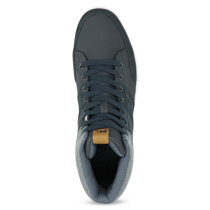 Blaue, knöchelhohe Sneakers north-star, Blau, 841-9608 - 17