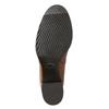 Damen-Knöchelschuhe aus Leder mit Absatz bata, Braun, 694-4641 - 19