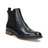 Damen-Chelsea-Boots aus Leder bata, Schwarz, 594-9636 - 13