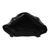 Schwarze Handtasche mit Zwecken, Schwarz, 961-6787 - 15